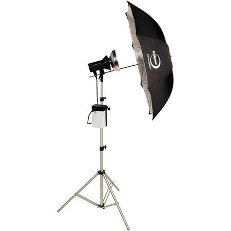 Photogenic ION Inverter StudioMaWs Flash Head and Umbrella Kit 280 - 200
