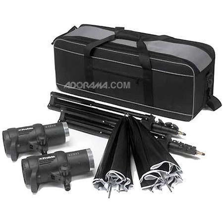 Profoto D Studio Kit D Watt Second Monolights Umbrellas Lightstands Case 215 - 48