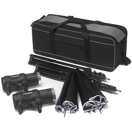 Profoto D Air Studio Kit D Watt Second Monolights Umbrellas Lightstands Case Air Remote not included 48 - 427