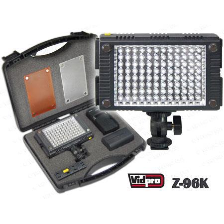 VidPro Z K Professional Photo Video LED Light Kit 244 - 519