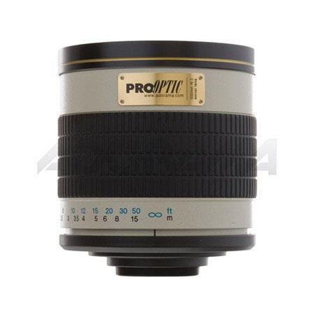 Pro Optic f Mirror Lens Canon FD Manual Focus SLR Cameras 208 - 413