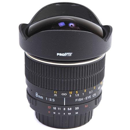 Pro Optic f Manual Focus Fish Eye Lens PentaMount 144 - 383