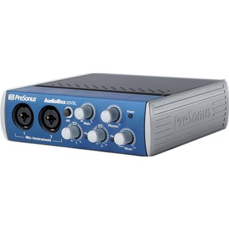 PreSonus AudioBoVSL AdvancedUSB Recording System Real Time Monitoring Effects 121 - 704