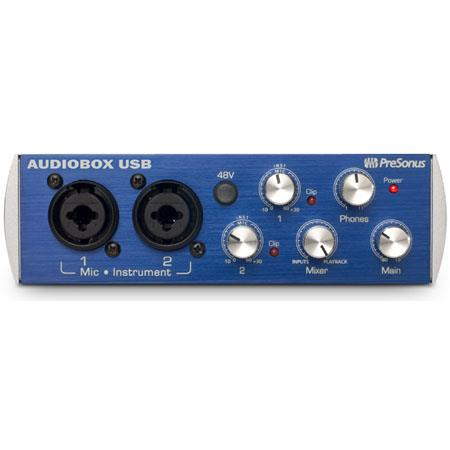 PreSonus AudioBoUSBRecording System Bundled Studio One Artist Software 123 - 43