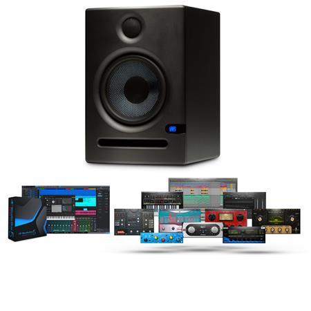 PreSonus Eris E Two Way Active Studio Monitor dB MaSPL Each 91 - 123