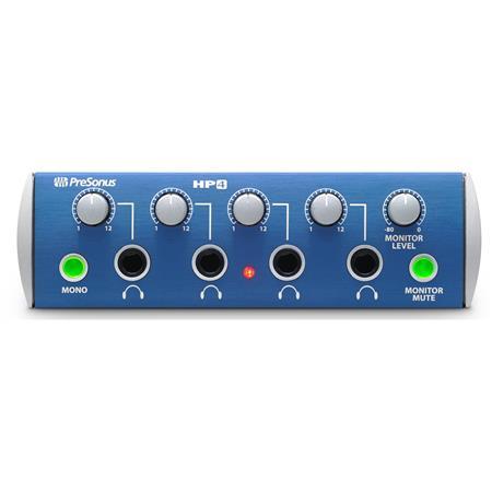 PreSonus HP Channel Headphone Distribution Amplifier U Rack Mount 203 - 142