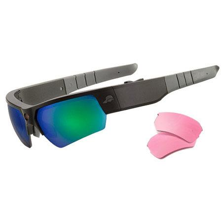 Pivothead Moab Wearable Video Glasses Iguana and Rose Interchangeable Lens 70 - 531