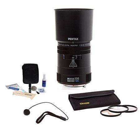 PentaD FA f Macro WR Weather Resistant Auto Focus Lens Kit USA Tiffen Photo Essentials Filter Kit Le 98 - 441