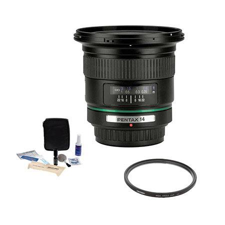 PentaSMCP DA f ED IF Digital Auto Focus Lens Kit USA Tiffen UV Wide Angle Filter Professional Lens C 79 - 184