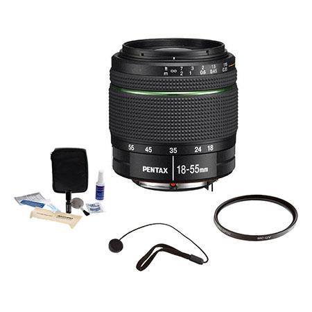 PentaSMCP DA f AL WR Weather Resistant Af Lens Kit Tiffen UV Filter Lens Cap Leash Professional Lens 119 - 453