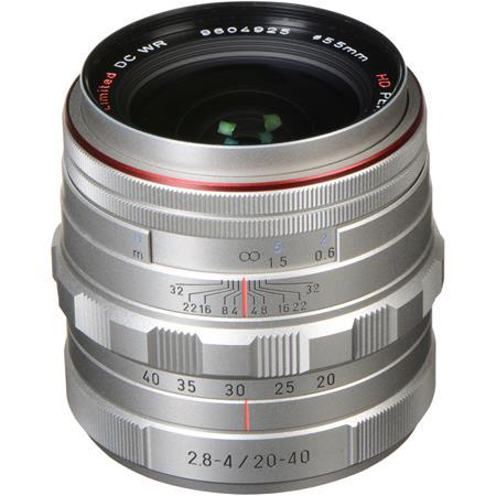 PentaHD DA F ED Limited DC WR Zoom Lens Silver 120 - 443