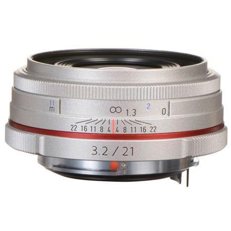 PentaSMCP DA f AL HD Limited Edition Lens Silver USA Warranty 216 - 483