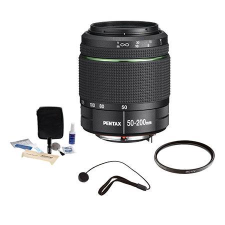 PentaSMCP DA f ED WR Weather Resistant Lens Kit Tiffen UV Fil er Lens Cap Leash Professional Lens Cl 30 - 759