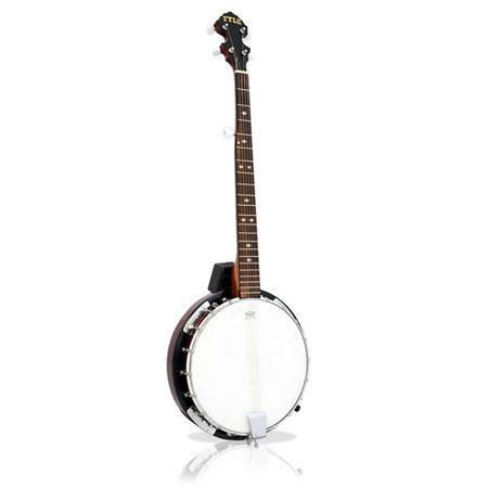 Pyle PBJ String Banjo Chrome Plated Hardware 218 - 724