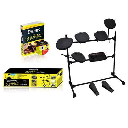 PyleHome Beginners Learning Professional Electronic Drum Set Dummies 91 - 591