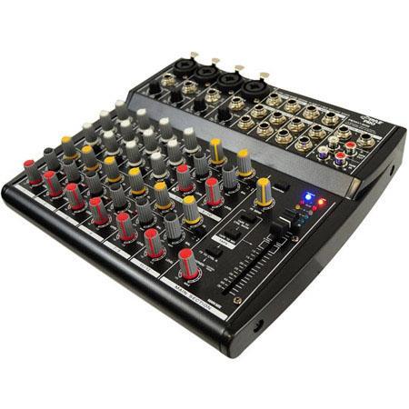 Pyle PEXM Channel Professional Audio Mixer Band EQ 254 - 441
