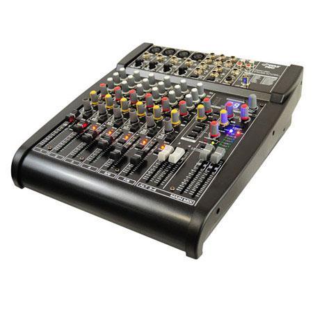 Pyle PEXM Studio Grade Bit Channel Stereo Mixer Built FX ProcessorDigital Effects 185 - 393