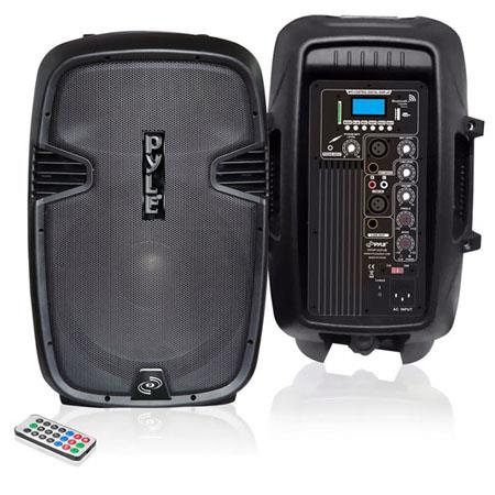 PylePro PPHPUB Watt Powered Two Way Speaker MPUSBSDBluetooth Streaming Record Function Remote 21 - 783