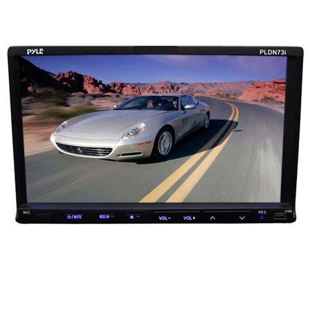 Pyle PLDNI In Dash LCD TFT Touchscreen Multimedia Player AMFM Tuner Digital Player 165 - 55