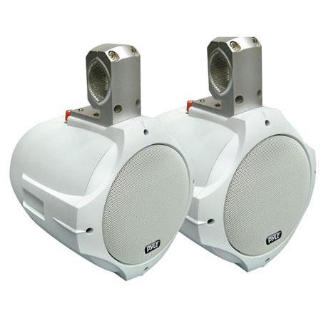 Pyle PLMRW Watts Two Way Wake Board Marine Speaker Hz KHz Frequency Response Magnet Structure Pair 226 - 135