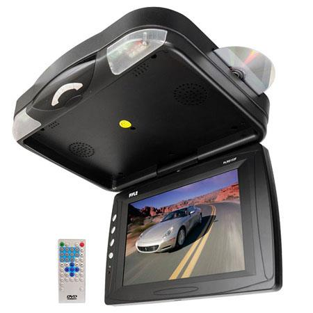 Pyle PLRDF Roof Mount TFT LCD Monitor Built In DVD PlayerResolution Contrast Ratio 107 - 163
