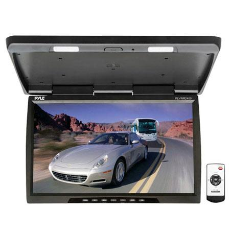 Pyle PLVWR Wide Screen TFT LCD Roof Mount Video Monitor IR Transmitter 334 - 283