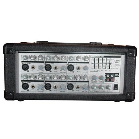 Pyle PMX Channel Watt Powered PA MixerAmplifier 58 - 552