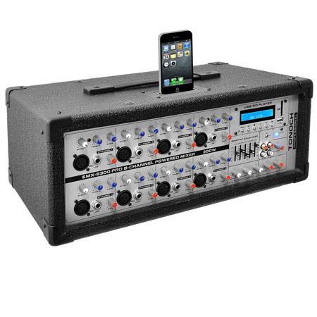 Pyle PMXI Channel Watt Professional Mixer 54 - 714