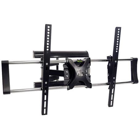 Pyle to Flat Panel Articulating TV Wall Mount lbs MaLoad Capacity 132 - 105