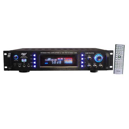 Pyle PATU W Hybrid Pre Amplifier AMFM TunerUSB 101 - 104