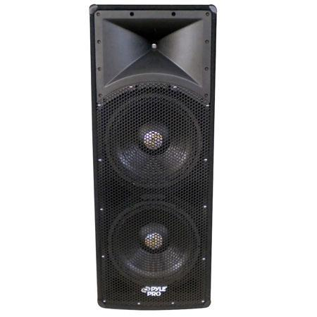 Pyle PADH W Dual Way PA Speaker Cabinet ohm Impedance dB Sensitivity 106 - 599