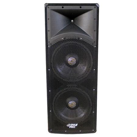 Pyle PADH W Dual Way PA Speaker Cabinet 141 - 677