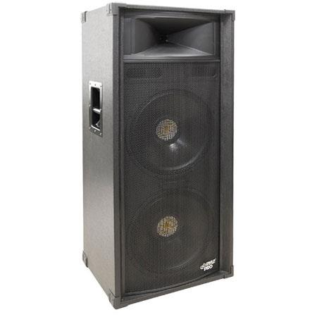 Pyle PADH W Dual Way Stage Speaker Cabinet kHz Frequency Response 8 - 466