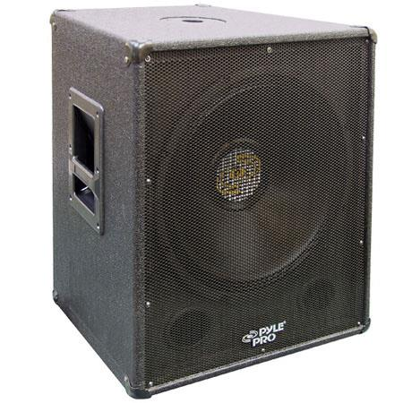 Pyle PASW W Stage PA Subwoofer Cabinet ohm Impedance 51 - 758