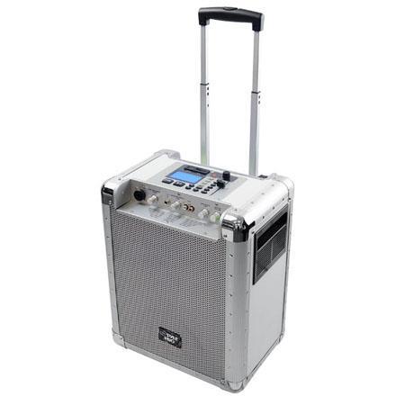 Pyle PCMX Portable PA System Rechargeable Battery USB Port SD Slot DJ Controls AuInputs  67 - 333
