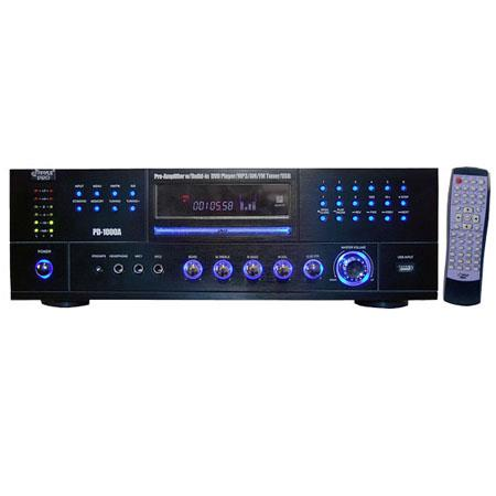 Pyle W AMFM Receiver Built DVDMPUSB Player 47 - 776