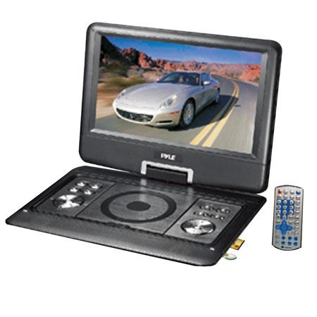 Pyle Audio Portable TFTLCD Monitor Built In DVD Player MPMPUSB SD Card Slot 172 - 105