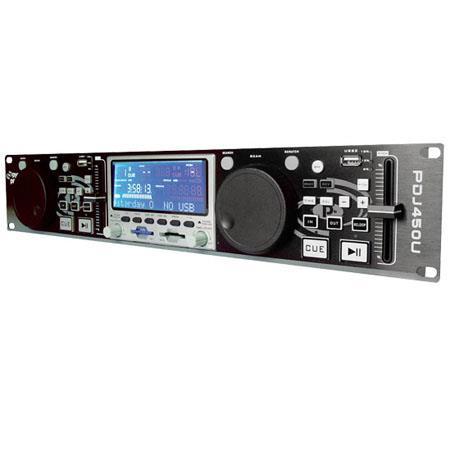 Pyle PDJU Professional DJ Dual USB MPSDUSB Player Scratch Function Hz kHz Frequency Response 128 - 289