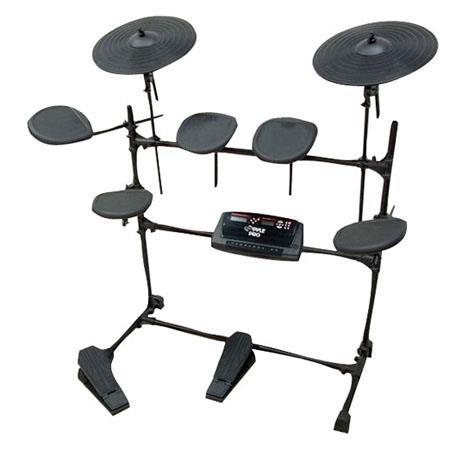 Pyle PEDM Electric Thunder Drum Kit MP Recorder 83 - 442