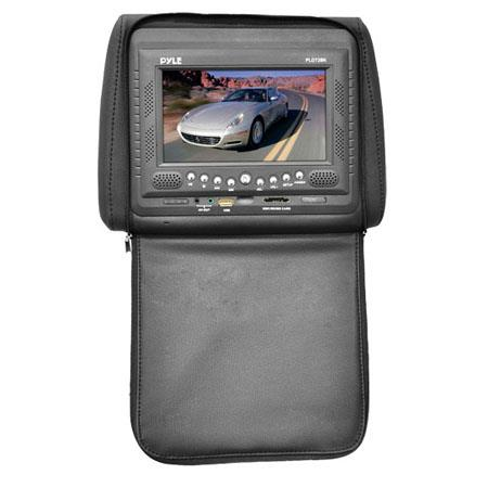Pyle PLD Adjustable Headrests Built In TFTLCD Monitor  172 - 595
