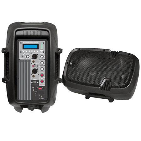 Pyle PPHPMU W Powered Two Way PA Speaker MPUSBSD Playback 41 - 649