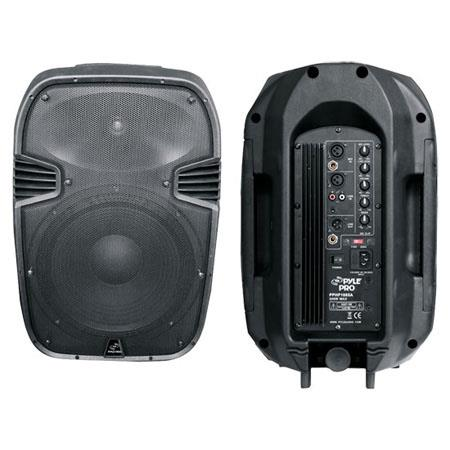 Pyle PPHPA W Powered Way Plastic Molded Speaker System 150 - 335