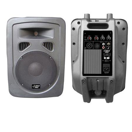Pyle PPHPA W Way Plastic Molded Powered PA Speaker System 58 - 712