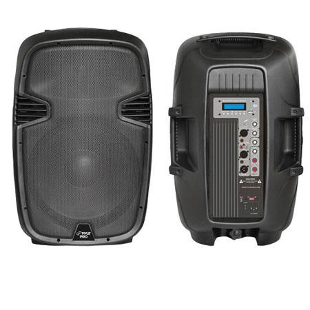 Pyle PPHPMU W Powered Two Way PA Speaker MPUSBSDmm Input 49 - 457