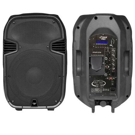 Pyle PPHPAI W Powered Way Full Range PA Speaker Built iPod Dock USB SD and Remote Control 86 - 67