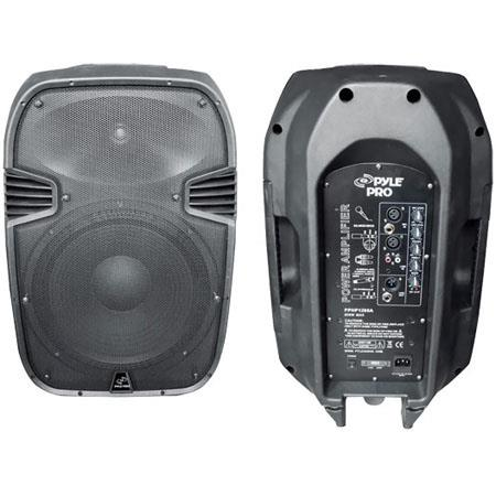 Pyle PPHPA W Powered Way Plastic Molded Speaker System 118 - 692