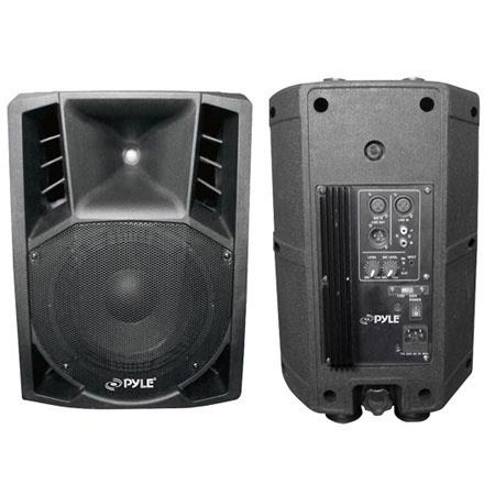 Pyle Pro PPHPA Watts Two Way AC Powered PA Speaker System 5 - 543