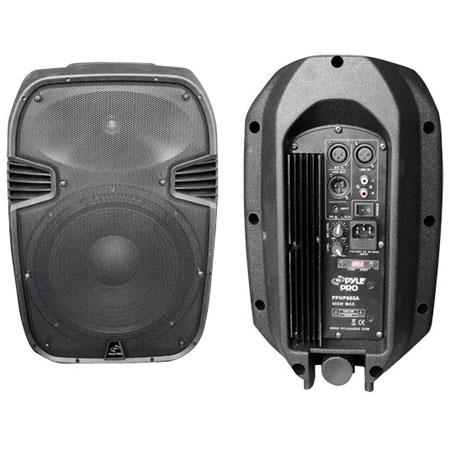 Pyle PPHPA Watts Powered Way Plastic Molded Speaker System Frequency Response Hz KHz 167 - 139