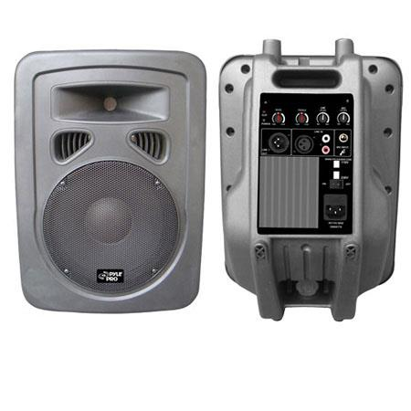 Pyle PPHPA Watts Way Plastic Molded PoweredAmplified Speaker System Frequency Response Hz KHz 141 - 155