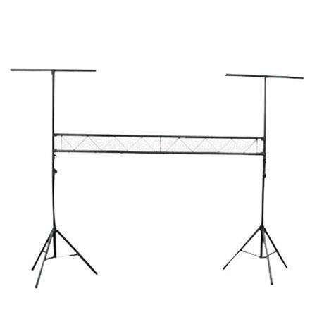 Pyle PPLS DJ Lighting Truss System Integrated Crossbar Stand Load Capacity lb 141 - 155